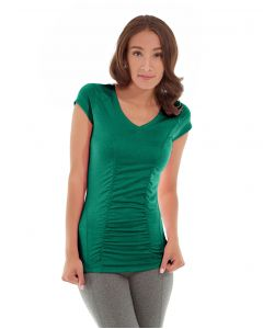 Iris Workout Top-S-Green