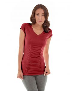Iris Workout Top-XL-Red