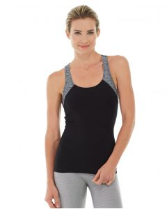 Antonia Racer Tank-XL-Black