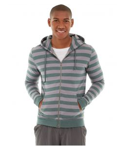 Ajax Full-Zip Sweatshirt -S-Green