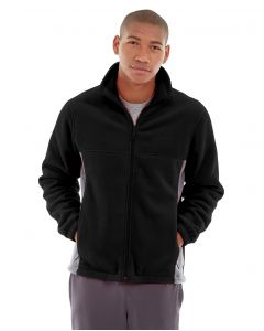 Orion Two-Tone Fitted Jacket-L-Black