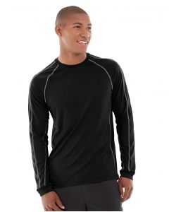 Deion Long-Sleeve EverCool™ Tee-M-Black