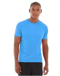 Atomic Endurance Running Tee (Crew-Neck)-XS-Blue
