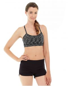 Lucia Cross-Fit Bra -L-Black