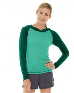 Ariel Roll Sleeve Sweatshirt-S-Green