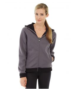 Circe Hooded Ice Fleece-S-Gray