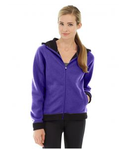 Circe Hooded Ice Fleece-XL-Purple