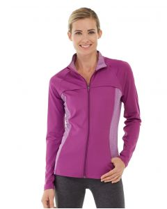 Inez Full Zip Jacket-M-Purple
