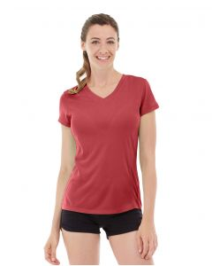 Gabrielle Micro Sleeve Top-XS-Red