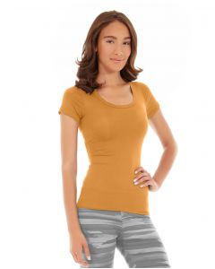Desiree Fitness Tee-XL-Orange