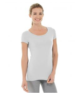 Tiffany Fitness Tee-XL-White