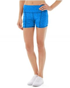 Gwen Drawstring Bike Short-31-Blue