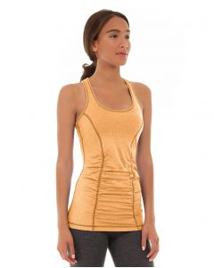 Leah Yoga Top-M-Orange